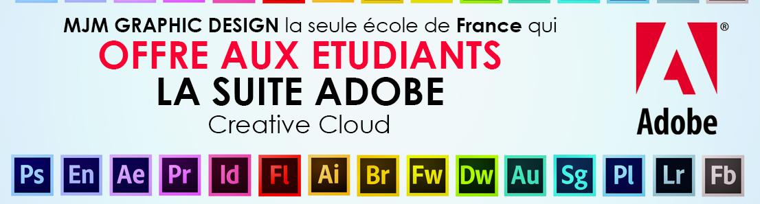 Mjm graphic design avis offre aux tudiant la suite adobe - Mjm graphic design rennes ...