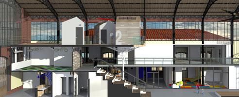 cole d 39 architecture int rieur formation architecture mjm. Black Bedroom Furniture Sets. Home Design Ideas